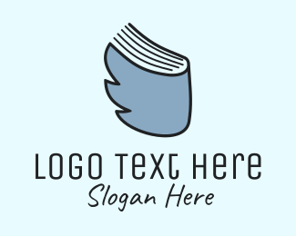 Page - Bird & Book logo design