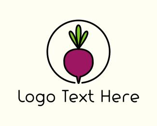 Food Blog - Fresh Beet logo design