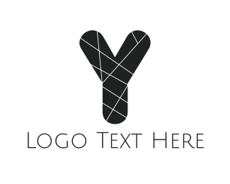 Stylish - Black Letter Y logo design