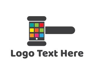 Application - Hammer Application logo design