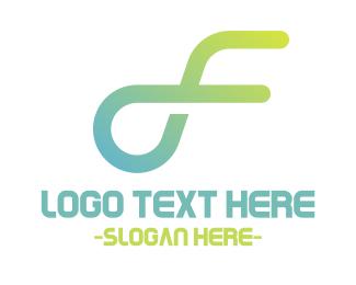 Race - Fast Letter F logo design