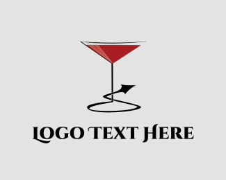 Nightclub - Naughty Cocktail logo design