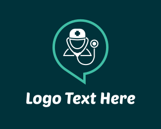 Stethoscope - Doctor Idea logo design