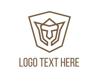 Esports - Shield Face logo design