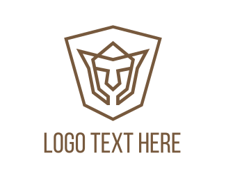 Mask - Shield Face logo design