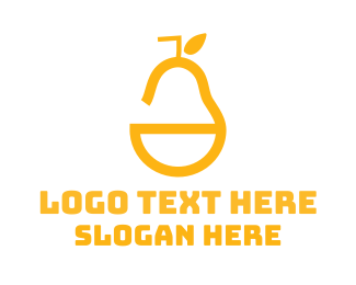 Yellow - Yellow Pear logo design
