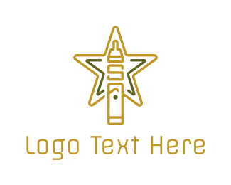Hookah - Star Cigarette logo design