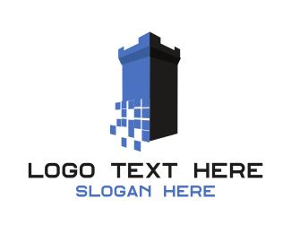 Bitmap - Digital Castle logo design