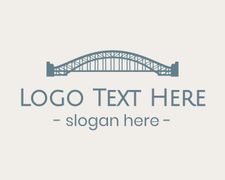 Tourist - Sydney Harbour Bridge logo design