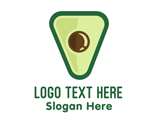 Australia - Avocado Shield logo design