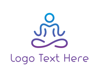 Therapy - Infinity Meditate logo design