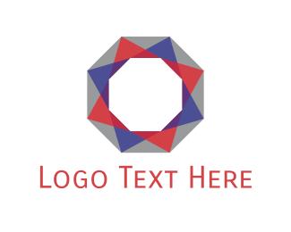 Hexagonal - Octagonal Diamond  logo design