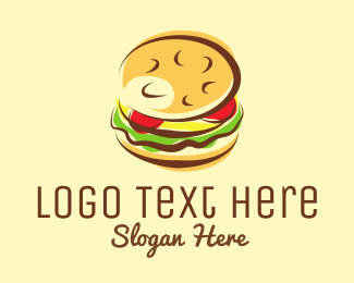 Cheese - Burger Restaurant logo design