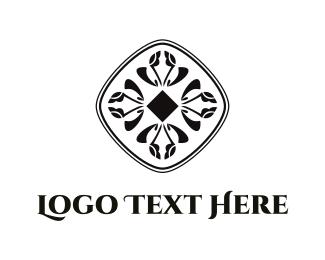 Record Label - Black Diamond logo design