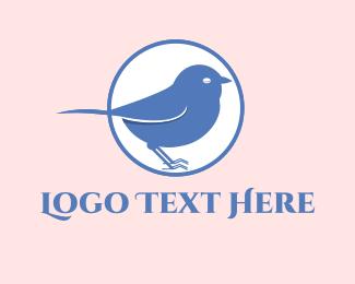 Sparrow - Blue Sparrow logo design