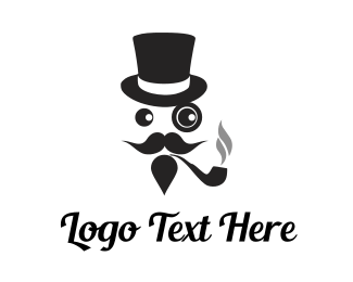 Smoke - Pipe Smoker logo design
