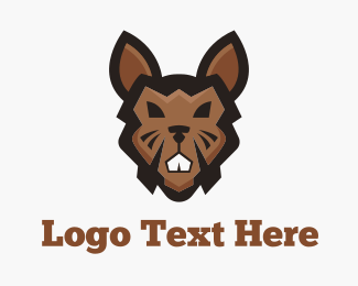 Brown Tough Rabbit Logo
