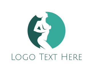 Alien - Naked Alien logo design