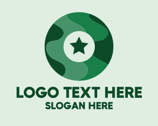 Military - Military Letter O logo design