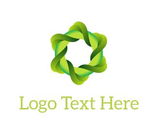 Circular - Eco Swirl logo design