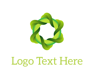 Environmental - Eco Swirl logo design