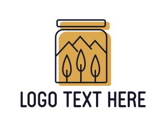 Jar - Honey Jar logo design