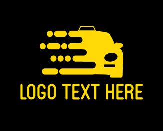 Taxi - Yellow Cab logo design