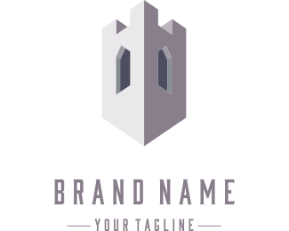 Concrete - Concrete Tower logo design