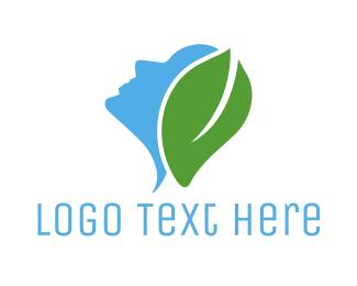 Care - Natural Face logo design