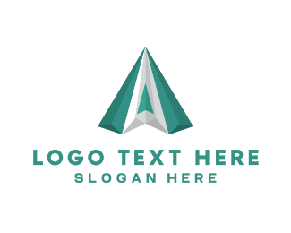 Emerald - Green Diamond logo design