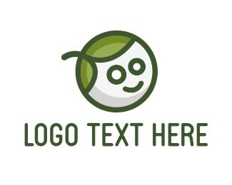 Boy - Green Eco Boy logo design