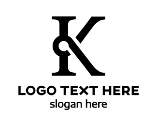Consultancy - Special Black K logo design
