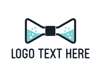 Chemical - Chemical Bow Tie logo design
