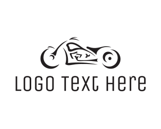 Motorcycle - Black Motorcycle logo design