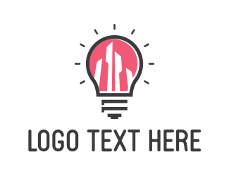 Lighting - Bright City logo design