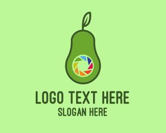Lgbtiq - Avocado Camera logo design