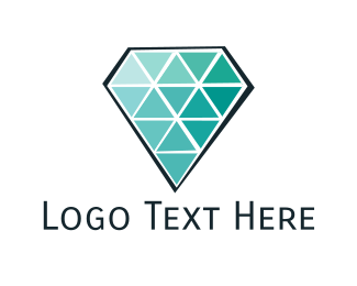 Emerald - Mint Diamond logo design