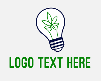 Medical Marijuana - Cannabis Idea logo design