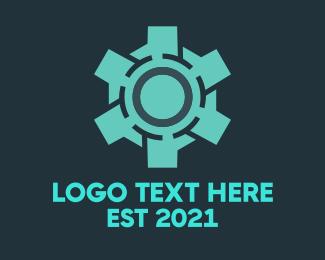 Moto - Gear Sphere logo design
