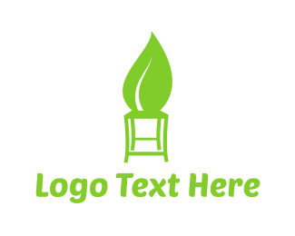Chair - Eco Stool logo design