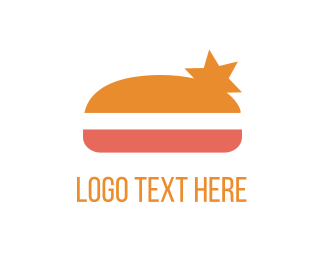 Burger - Star Burger logo design