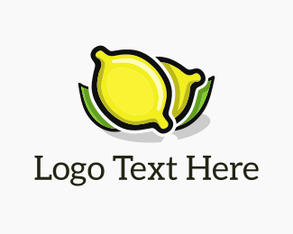 Fruit - Lemon Fresh logo design