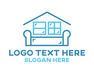 Removalist - Home Furniture logo design
