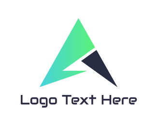 Saas - Tech Mint Arrow logo design