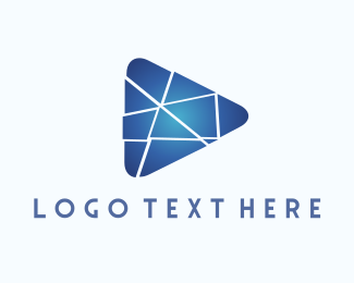 Media Player - Media Puzzle logo design