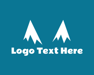 Ice Coffee - Snow Peaks logo design