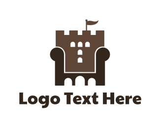 Furniture - Castle Furniture logo design
