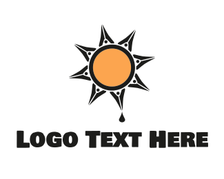 Ink - Ink Sun logo design