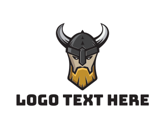Nordic - Viking Warrior Clan logo design