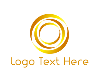 Rotary - Golden Circle logo design
